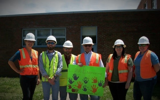 Easton Elementary's Construction Project Parade